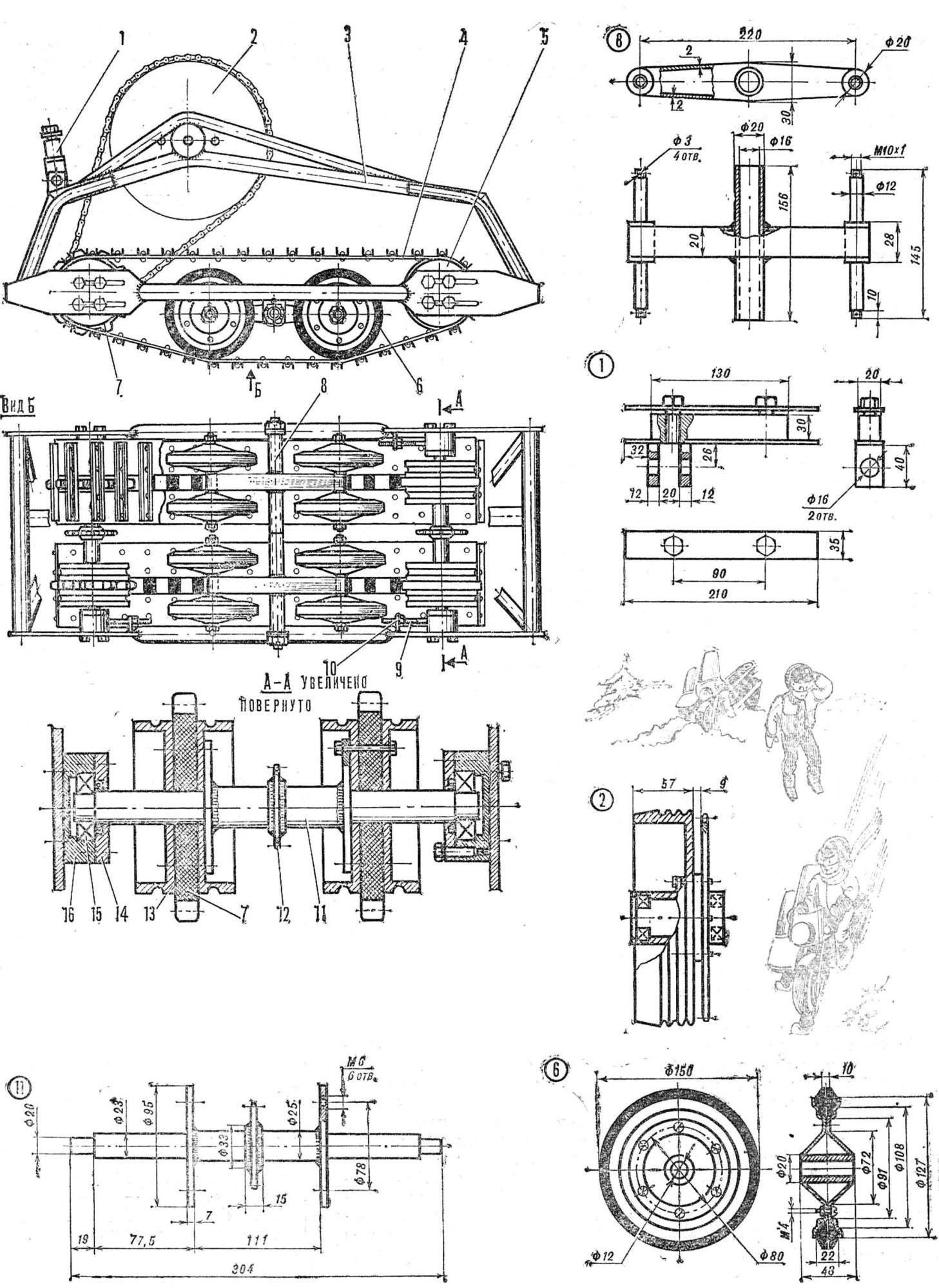 Подвесной лодочный мотор болотоход Сделай Сам 86
