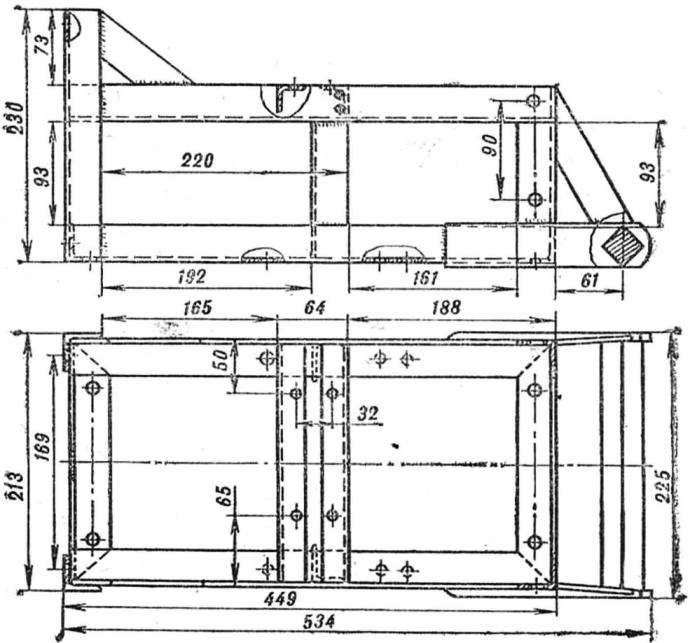 Frame (bracket tank not shown).