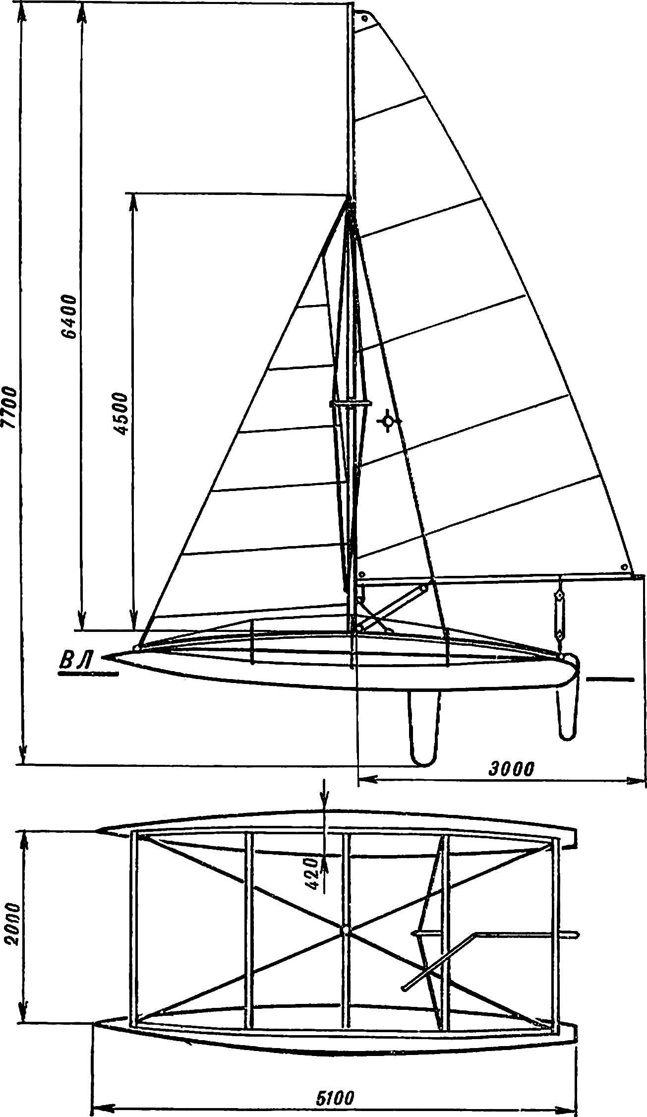 Fig. 1. Catamaran