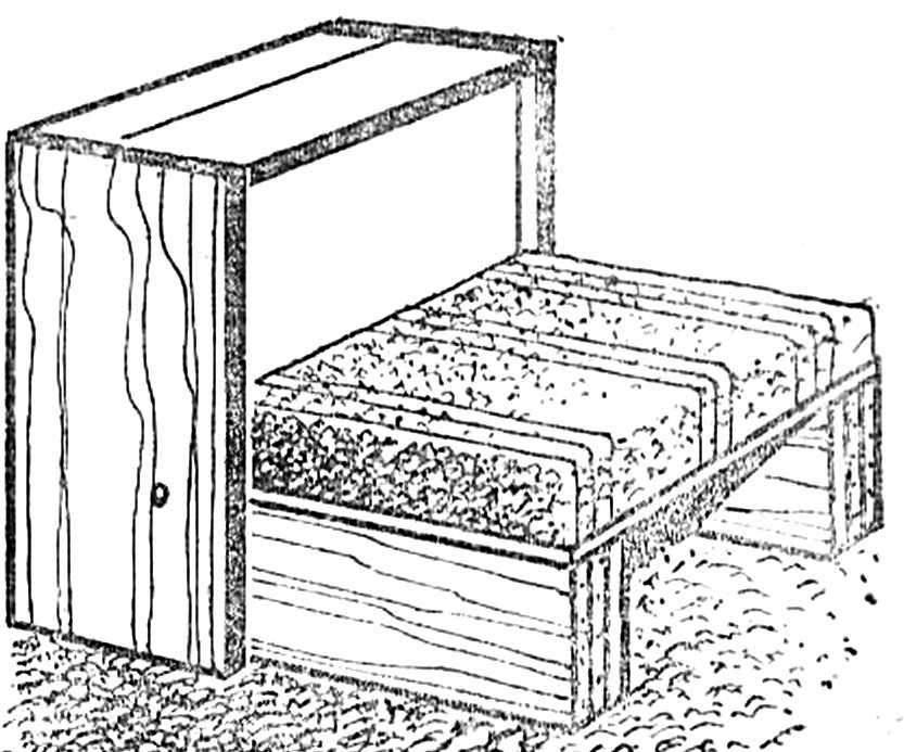 Рис. 4. Выдвинуты опорные панели, опущена одна из вертикальных панелей, из-за которых вынута большая подушка — собрано кресло.