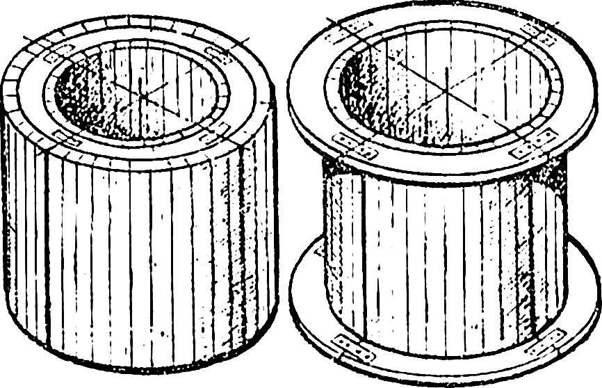 Опалубка для отливки кольца.