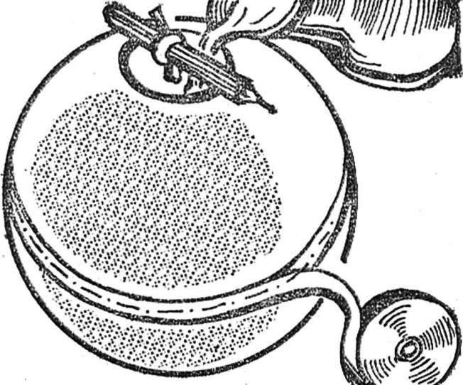 Рис. 1. Форма для получения свечи-шара.