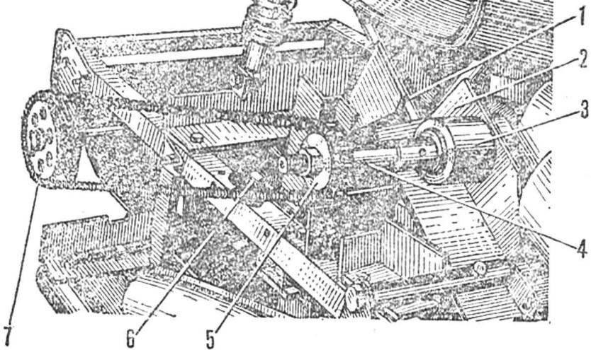 Рис. 5. Установка промежуточного вала