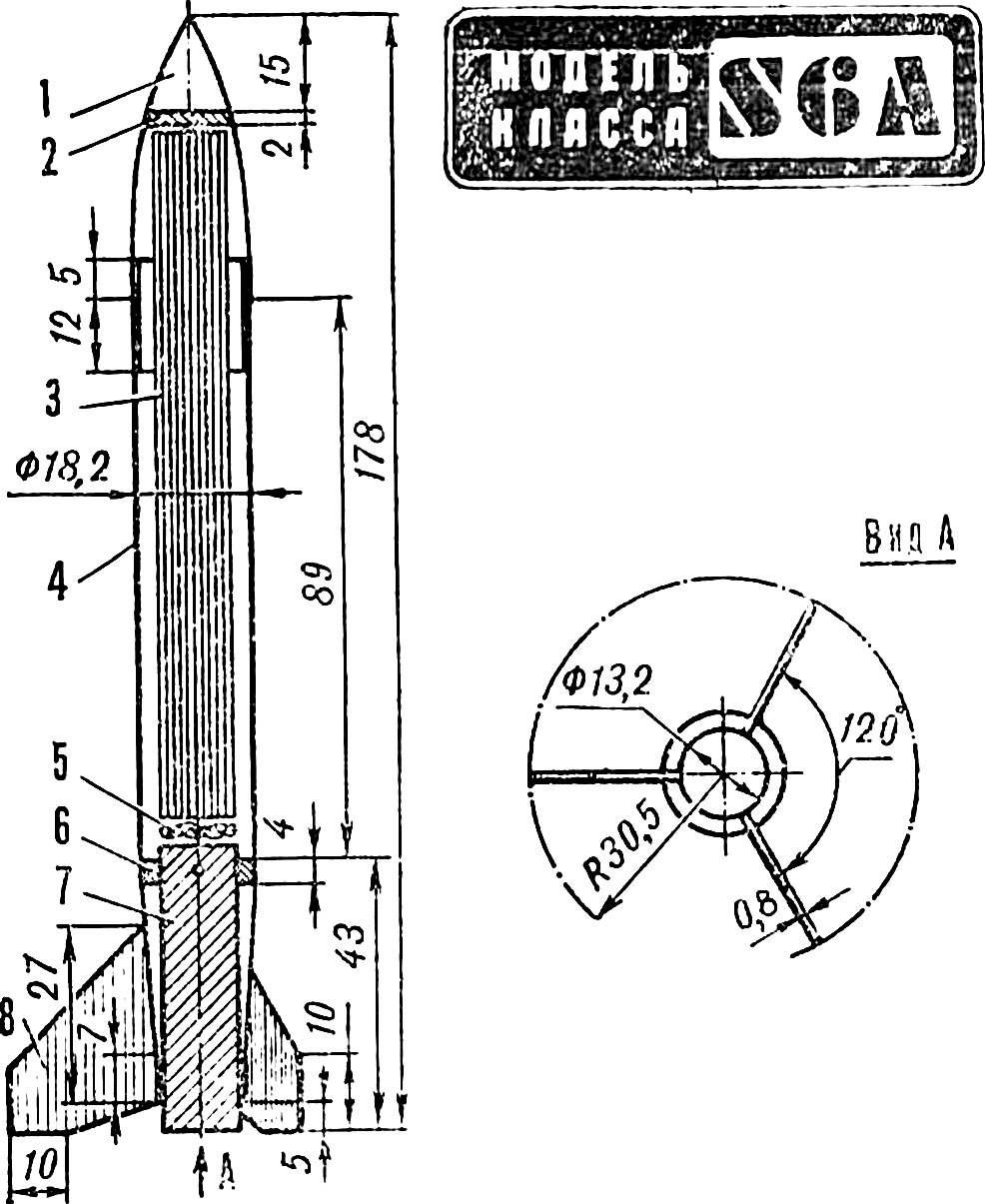 Рис. 1. Модель чемпиона СССР 1986 года А. Митюрева.