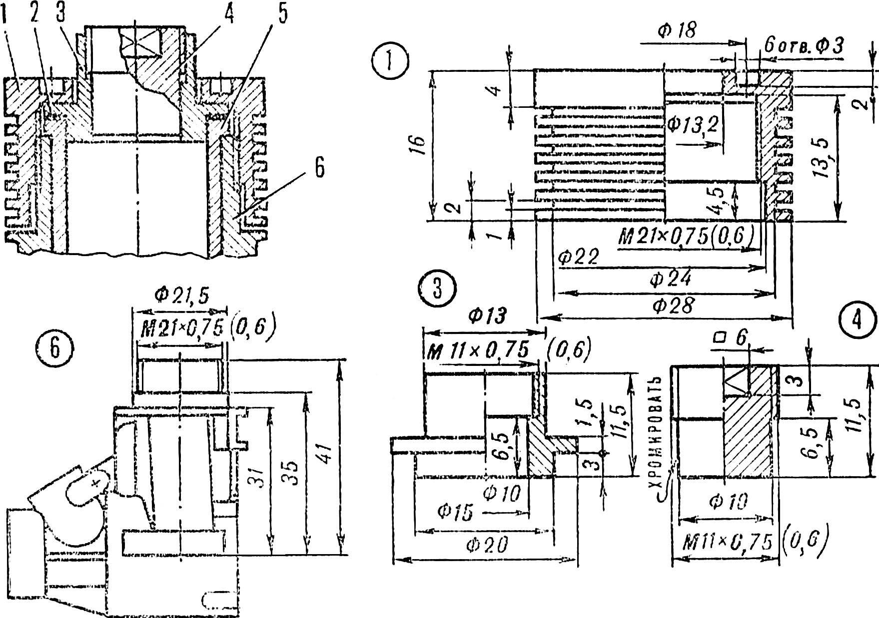 Доработка микродвигателя ЦСТКАМ 2,5К.