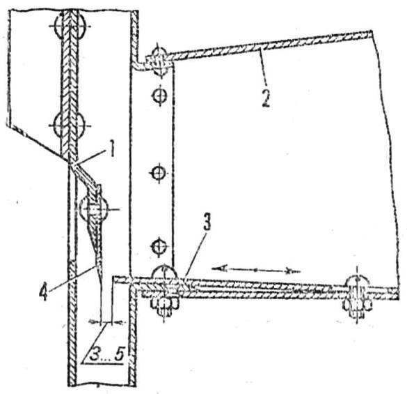 Р и с. 3. Рабочая зона шинковки