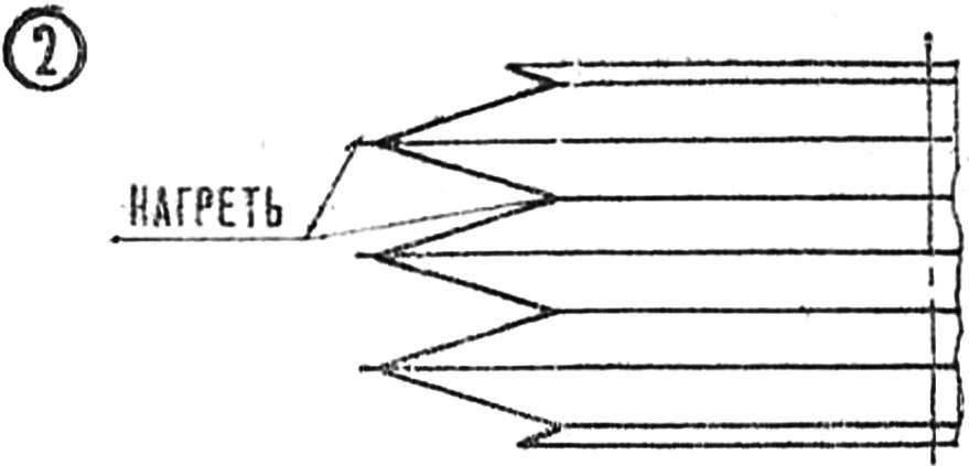 Р и с. 2. Устройство полиэтиленового меха