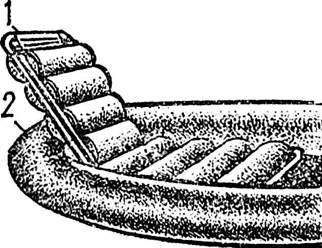 Рис. 3. «Дипломат» в варианте кресла.