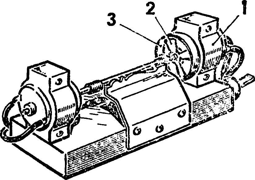 Fig. 2. The option of the machine twice the power.