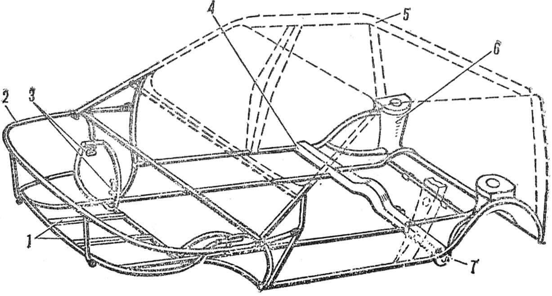 Рис. 2. Схема кузова