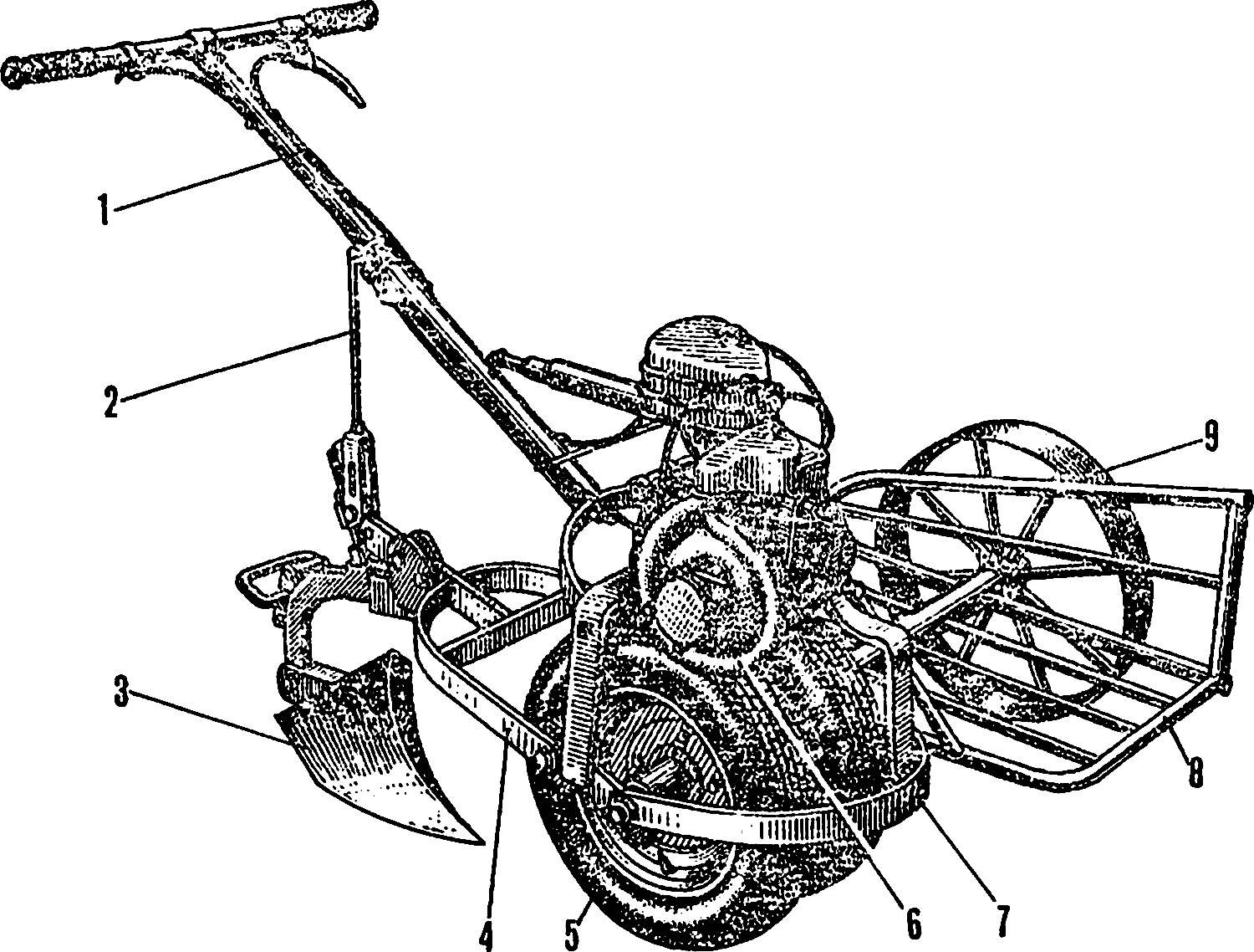 Fig. 8. The tow plow.