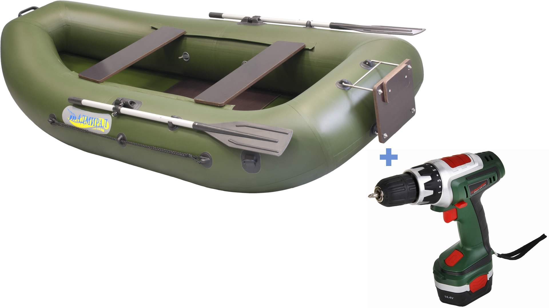 MOTOR TO AN INFLATABLE BOAT