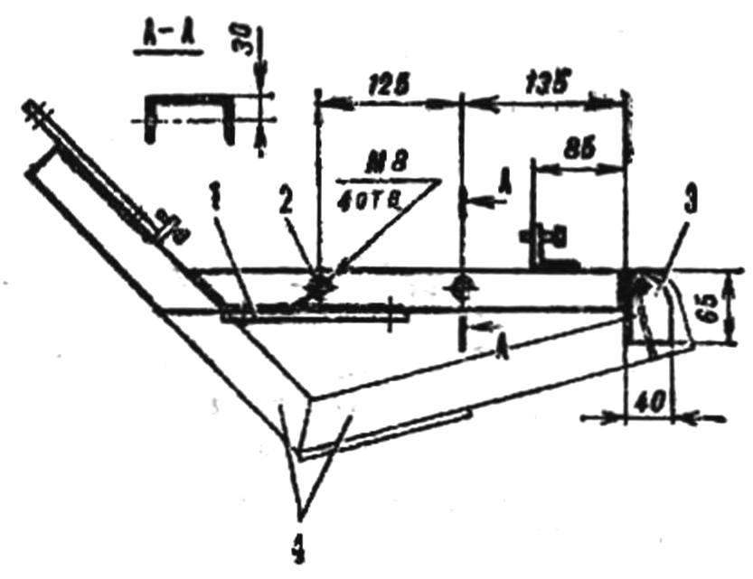 Рис. 2. Переделка рамы