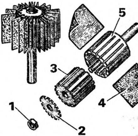 Рис. 5. Разъемная щетка