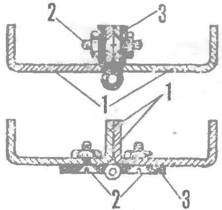 Fig. 2. Installing hinges