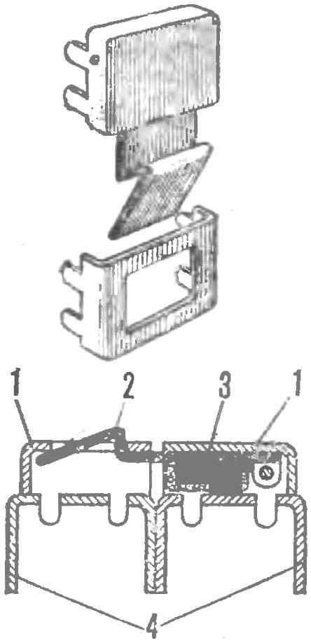 Рис 3. Конструкция самодельного замка