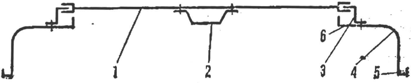 Рис. 6. Схема люка
