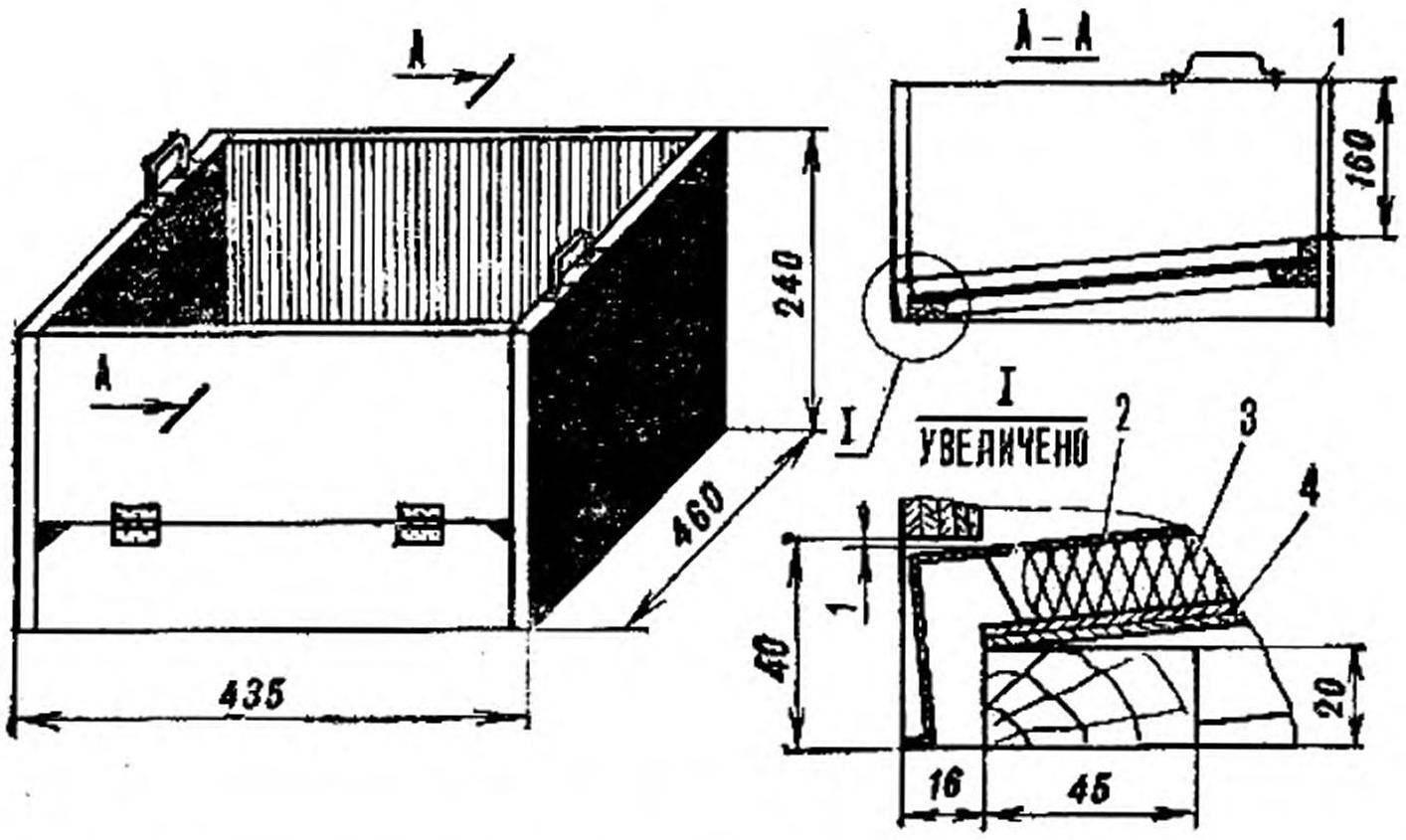 Рис. 4. Ящик гнездовой (маточник)