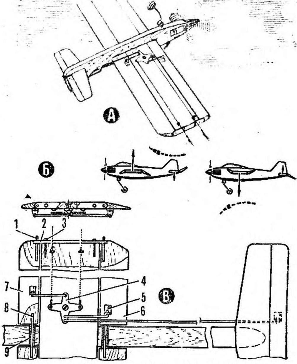 Модернизированная модель с механизированным крылом