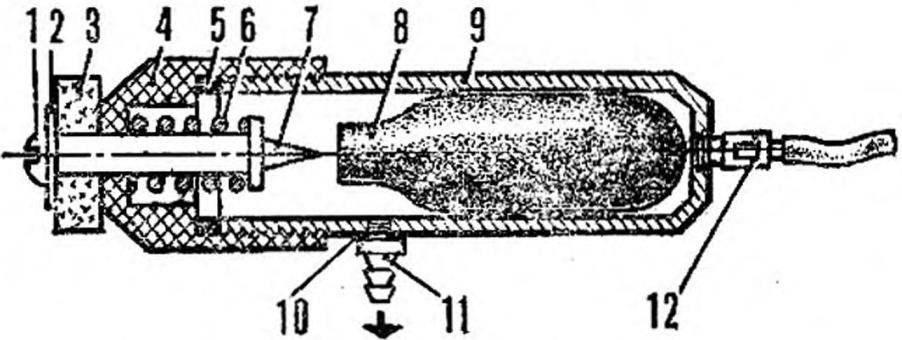 Рис. 2. Аккумулятор СО2