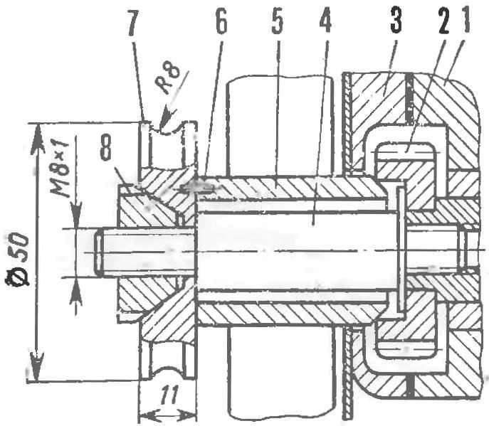 Рис. 5. Доработка двигателя