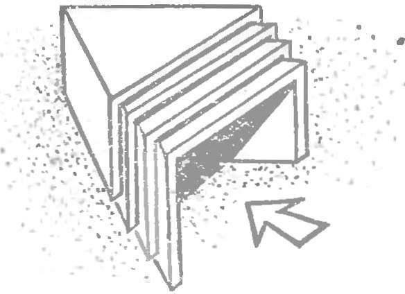 Рис. 3. Пакет модулей, собранный для хранения.