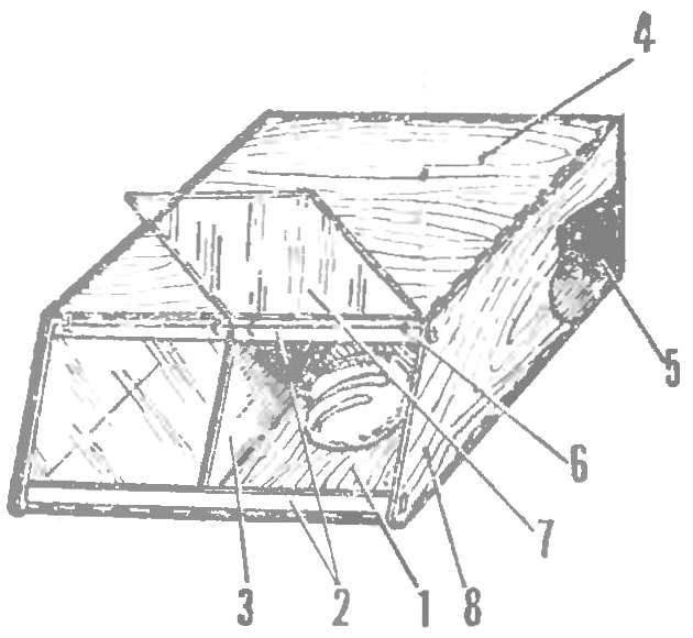 Рис. 1. Деревянная хлебница