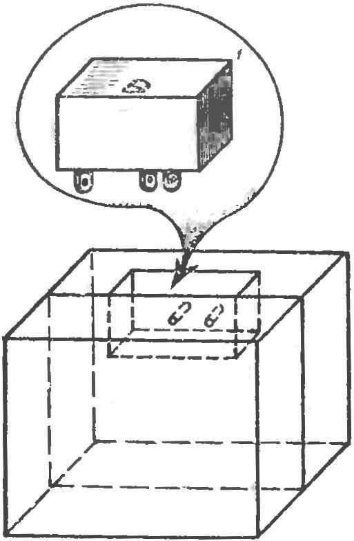 Р и с. 3. Блок микропереключателя.