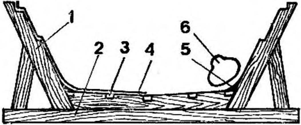 Рис. 4 Стапель для изготовления матрицы