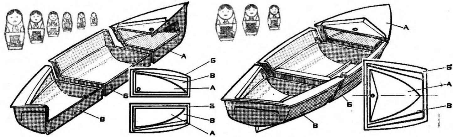 Рис. 6. Корпус швертбота