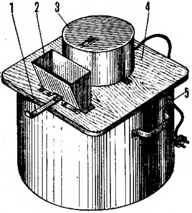 Fig. 1. General view of the crusher