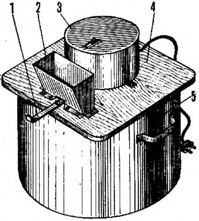 Рис. 1. Общий вид дробилки
