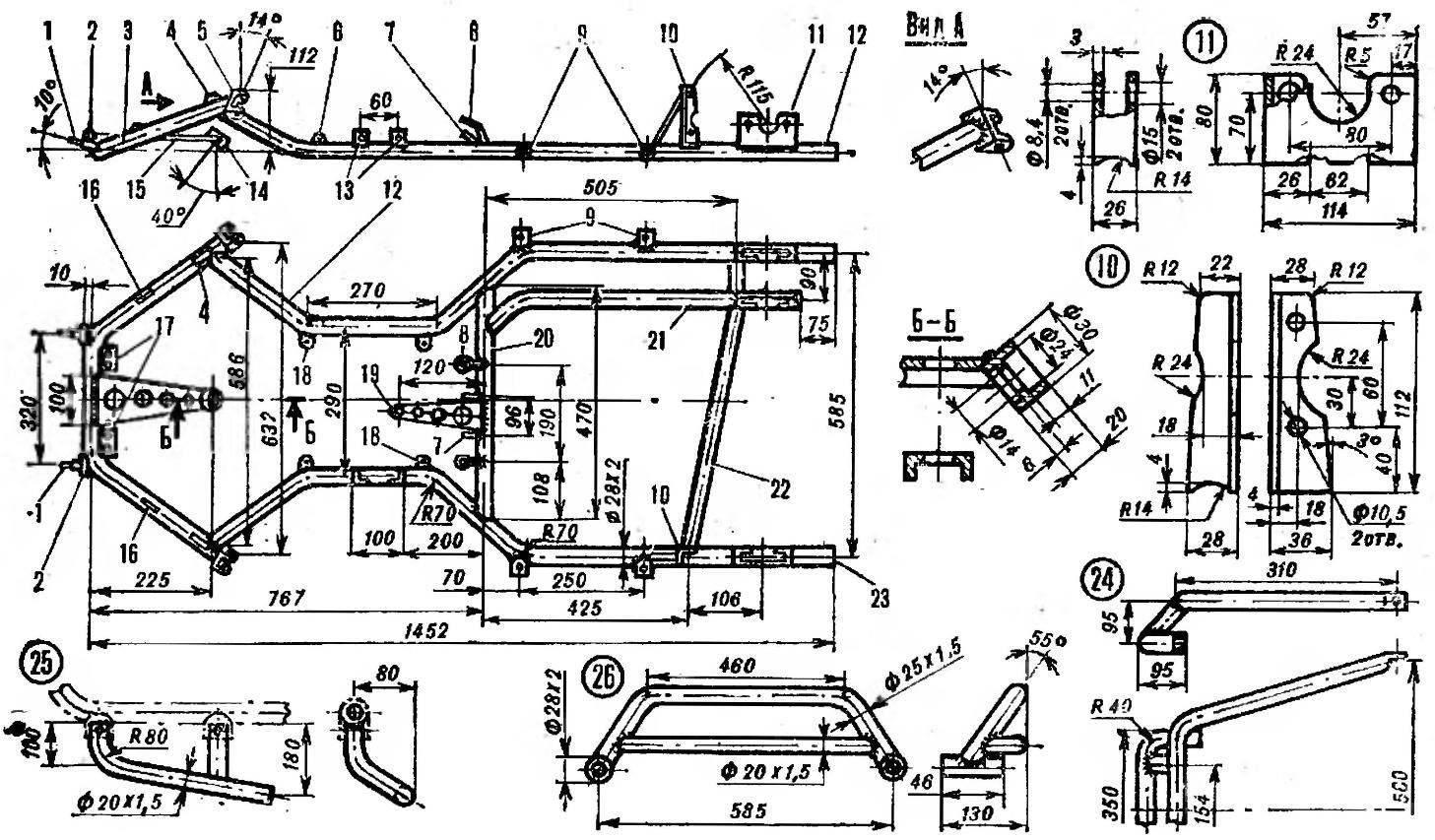 Frame map