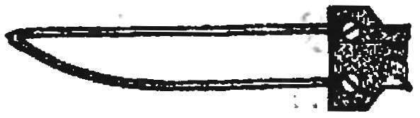 «Нож» для отрезания деталей.