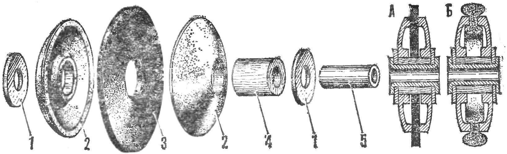 Конструкция самодельного колеса