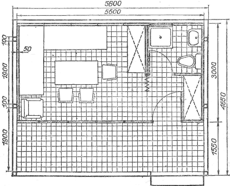 Fig. 2. Plan Bungalow