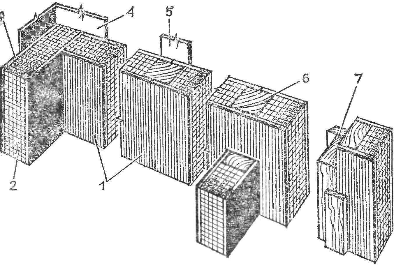 Р и с. 3. Конструкция стен