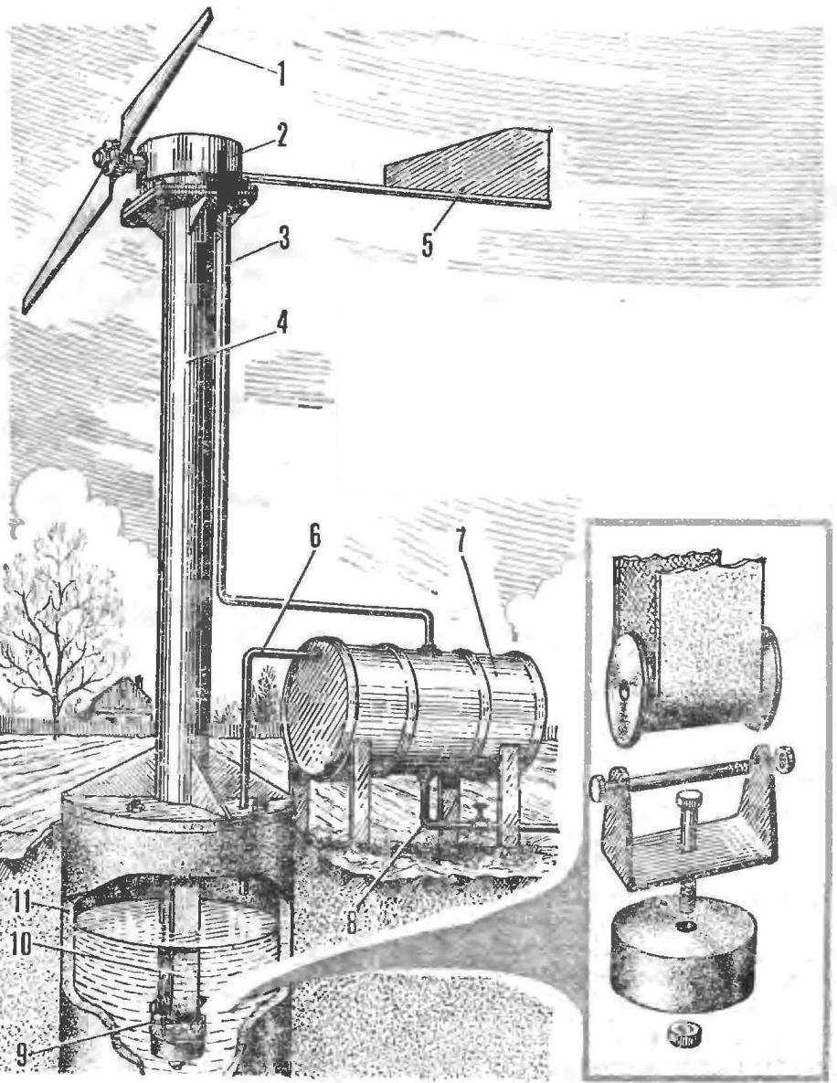 Рис. 1. Водоподъемная установка