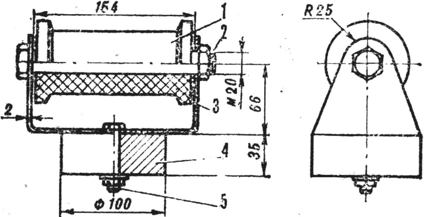 Р и с. 8. Натяжной механизм