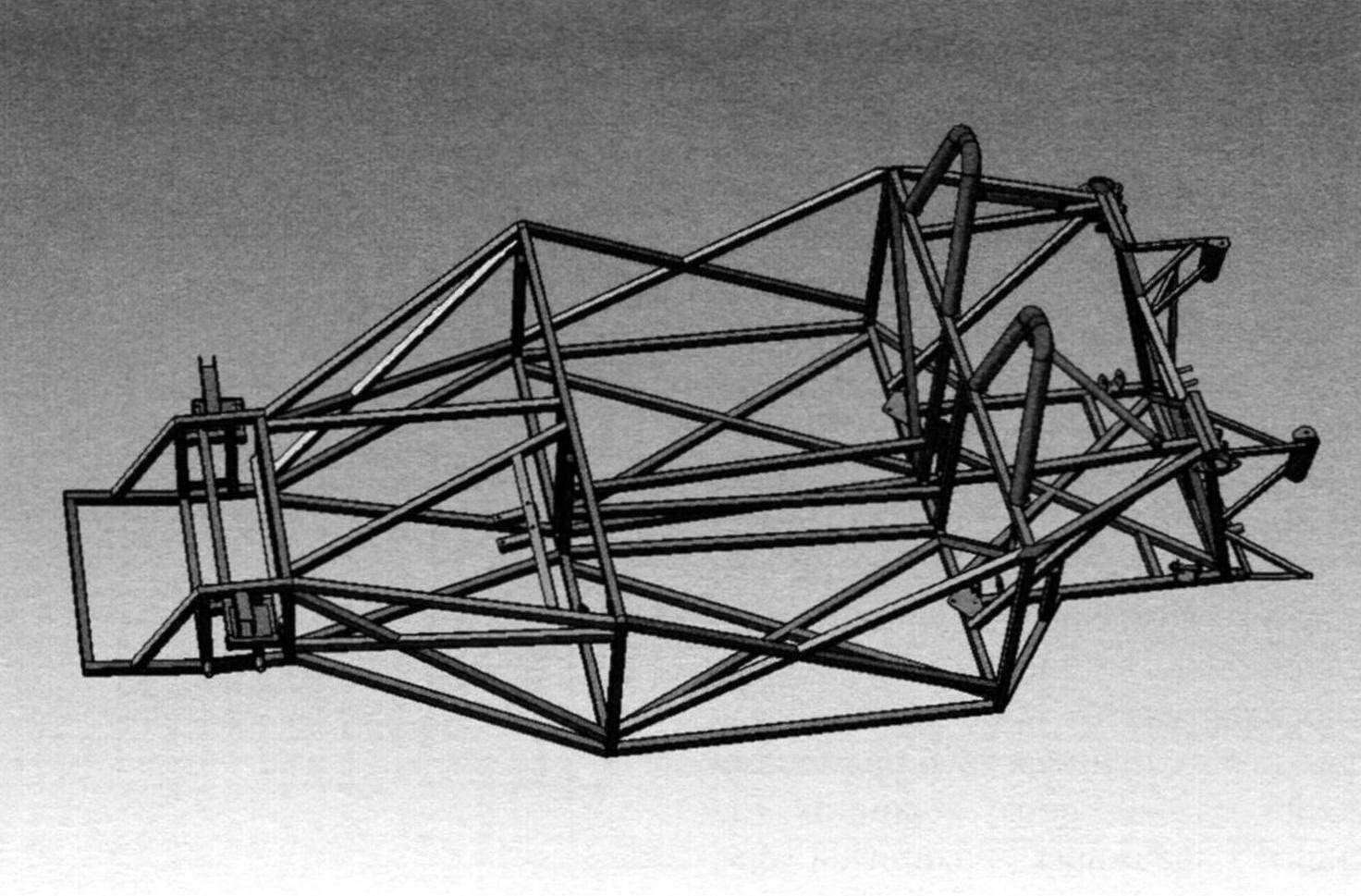 Рама: основные размеры и изображение 3D