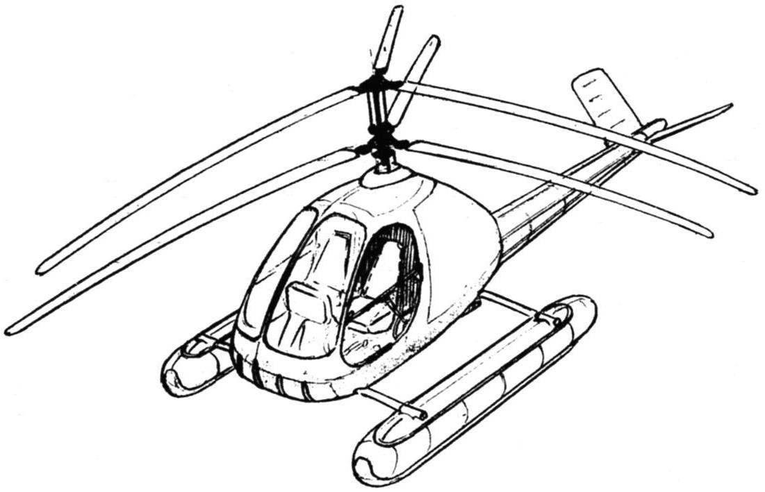 Ka-17 on a sea (float) chassis