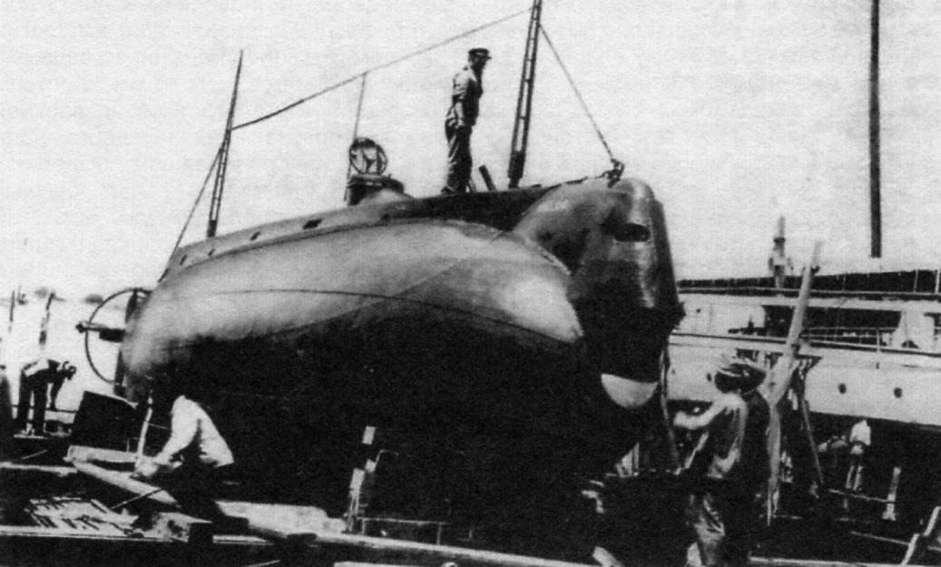 Подводная лодка «Плунжер-3» («Холланд»), США, 1897 г.