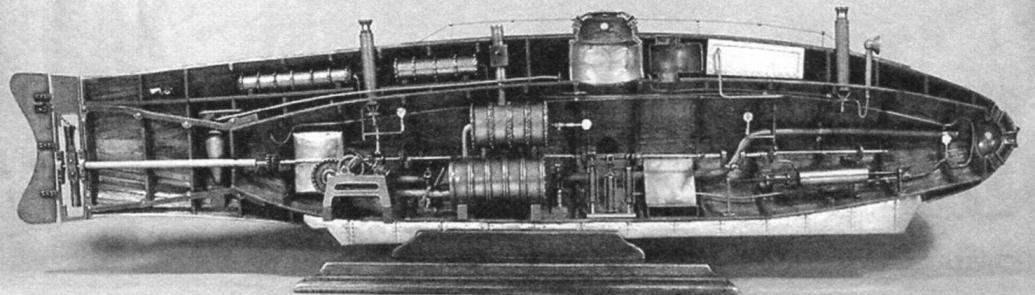 Подводная лодка «Эль Ихгинео-2», Испания, 1864 г.