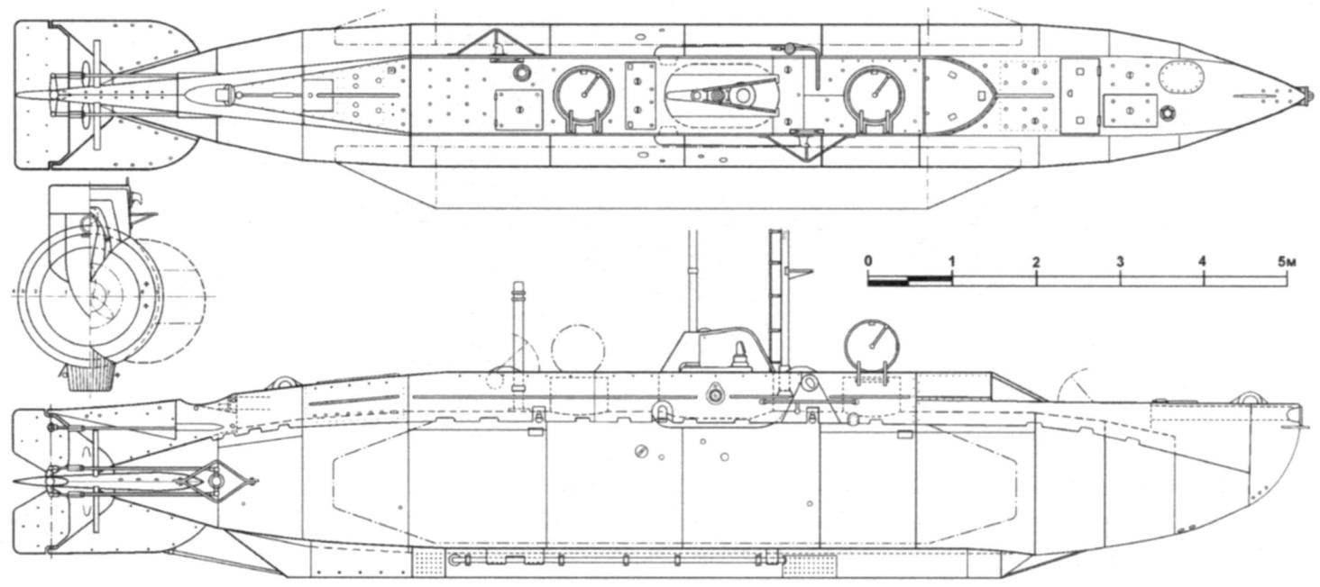 Подводная лодка X второй серии (Х20 - Х25)