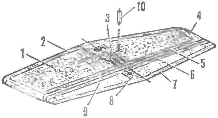 Рис. 5. Конструкция стабилизатора