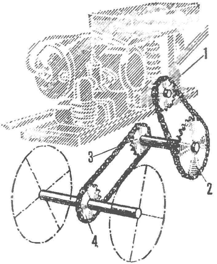 Рис. 5. Кинематическая схема