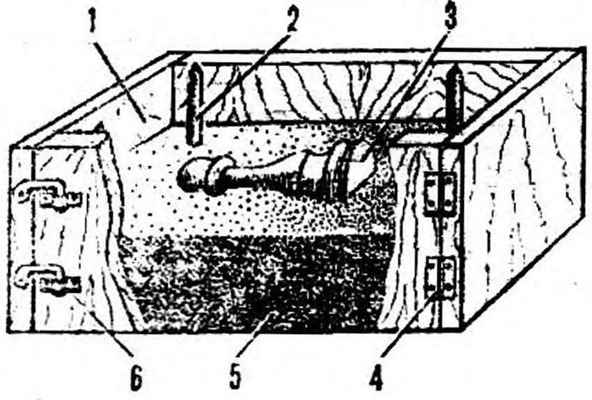 Рис. 3. Литьевой ящик