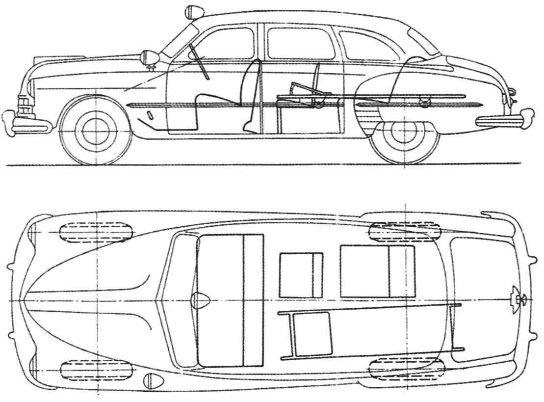 Карета скорой помощи ГАЗ-12Б