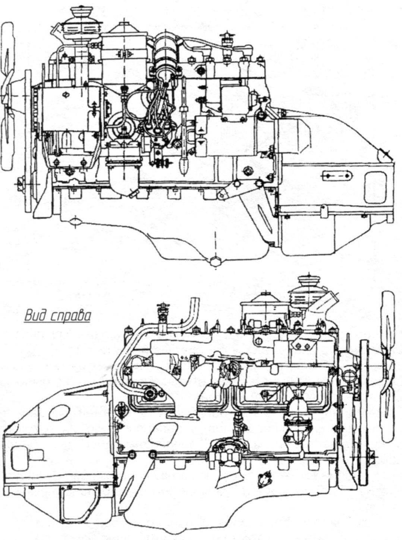 Шестицилиндровый 95-сильный двигатель ГАЗ-12 (ЗИМ)