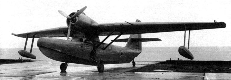Бе-8 на сухопутном шасси